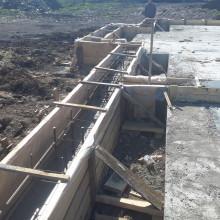 Строительство домов, возведение фундамента. Примеры работ