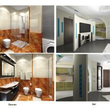 Проект квартиры. Услуги дизайнера